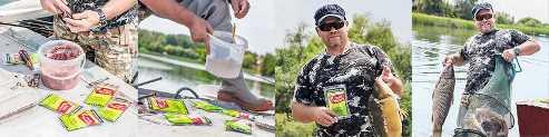 Рыболовный пластилин для ловли карася